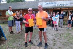 Team-Triathlon im Ferienpark Üdersee-Camp